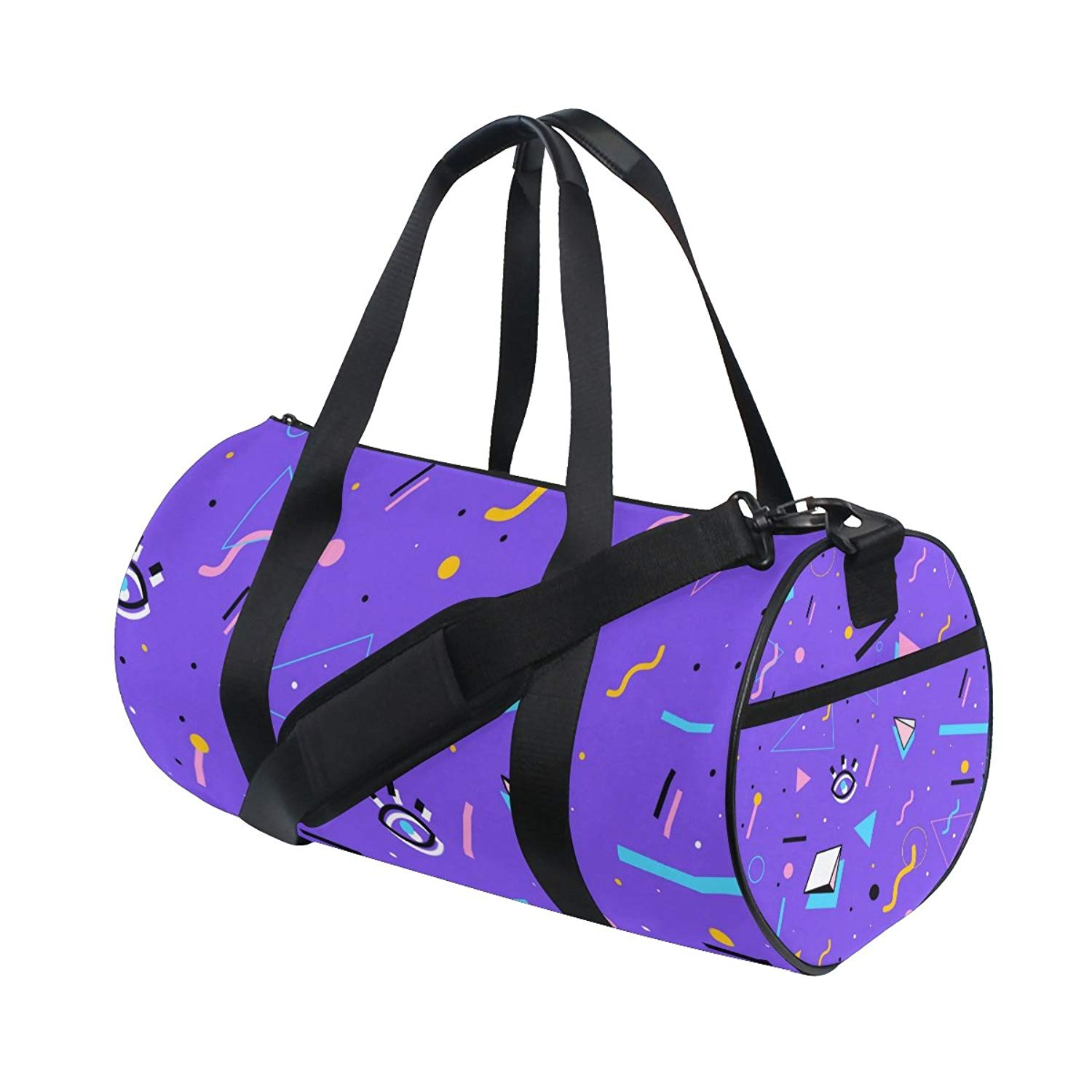 Get Quotations · ALIREA Style Pattern Duffle bag Shoulder Handy Sports Gym  Bags for Men and Women 5f77d9a689