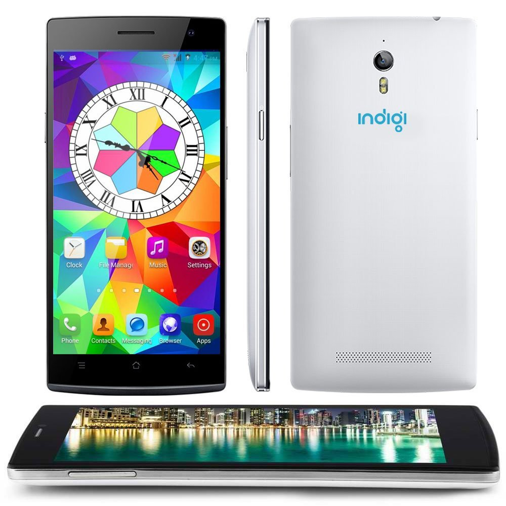 Indigi® 7mm Ultra Slim 3G SmartPhone Android 4.2 Phablet 5.5inch Capacitive GSM UNLOCKED [US SELLER]
