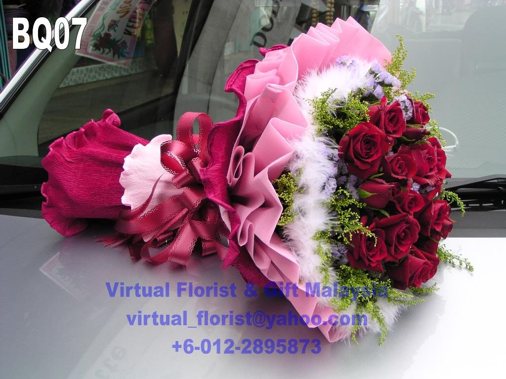 Rose Flower Bouquet - Buy Rose Flower Bouquet Valentine Love Gift ...