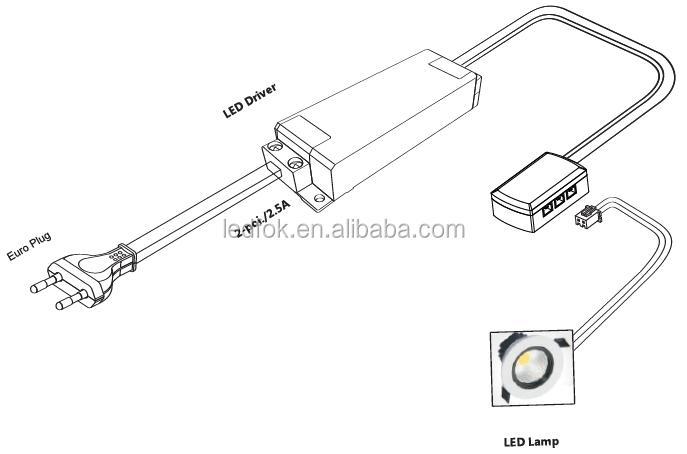 24v led cable flat electronic connectors wiring mini plug