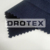 high quality cotton black/navy blue 20*20/60*60 plain weave fire proof lining fabric