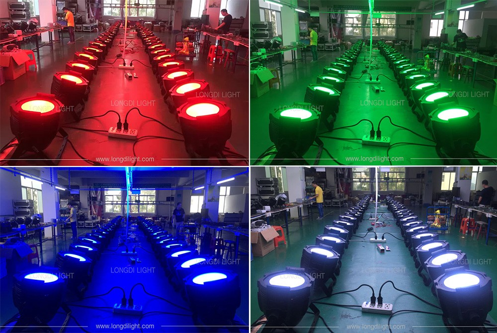 DJ Lighting Stage Light Wash 1*150W RGBW 4 in 1 LED COB Par Can Effect Light Warm white/cold white/RGBW 4 in 1 for your options