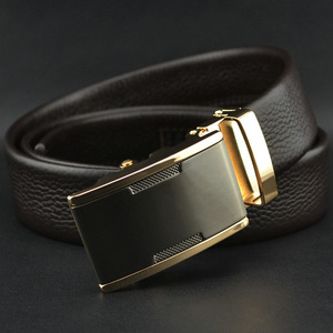 box frame belt buckle,mens genuine spanish leather belt