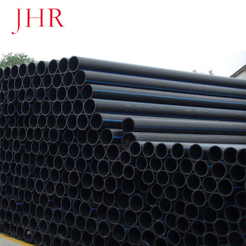 China supplier large diameter plastic pipe HDPE pipe for water supply