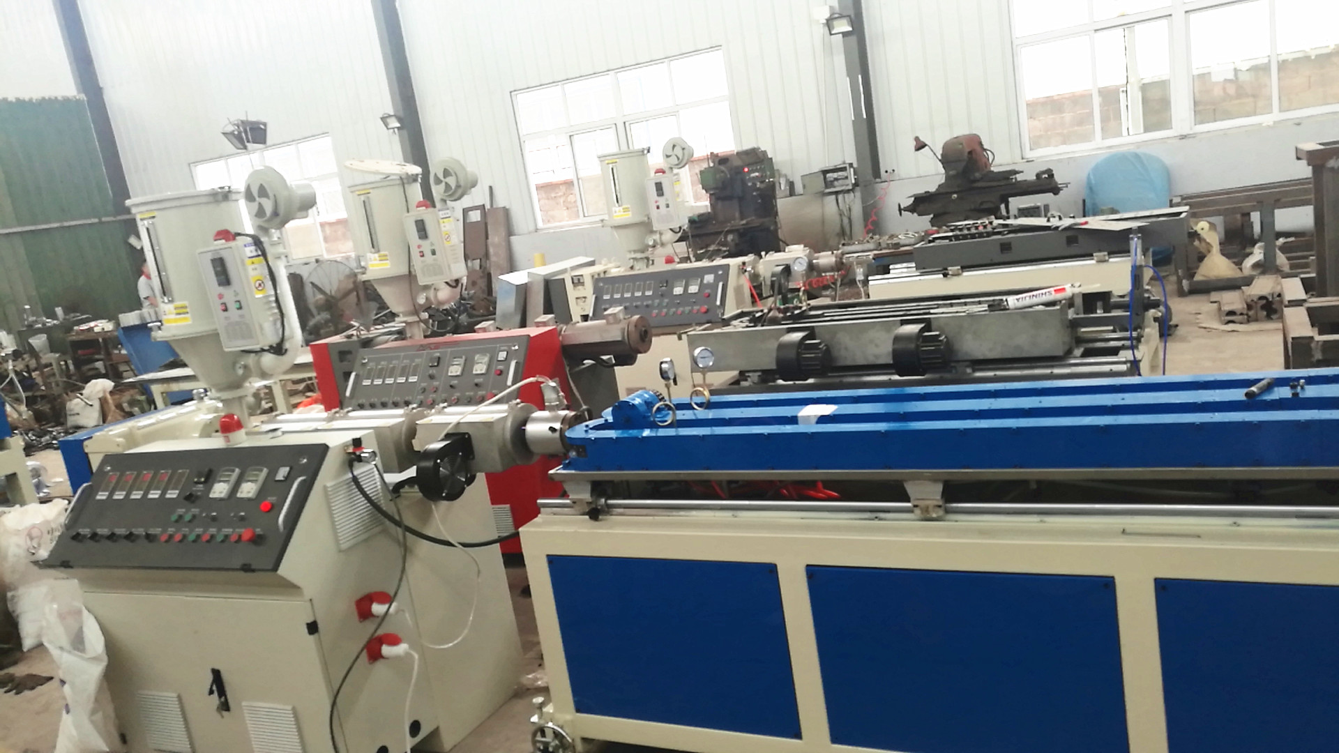 PP PE PVC Corrugated Pipe Machine Production line/ Bellows Water Electric Conduit Pipe Machine