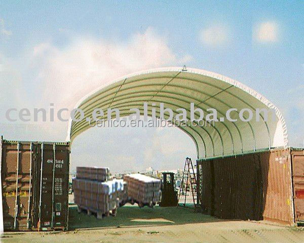 Container Fabric Shelter, warehouse tent , storage shelter