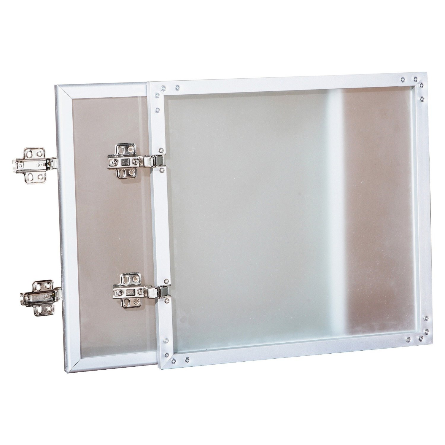Lorell Wall Mount Hutch Frosted Glass Door