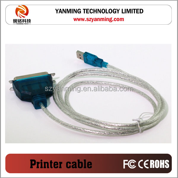 usb to printer 25pin cable 1284 male to female
