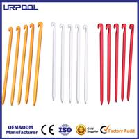 outdoor tent pegs aluminium alloy stake steel anchor pegs