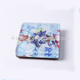 Custom Acrylic Hot Drink Coasters plexiglass Wooden pad with rubber feet