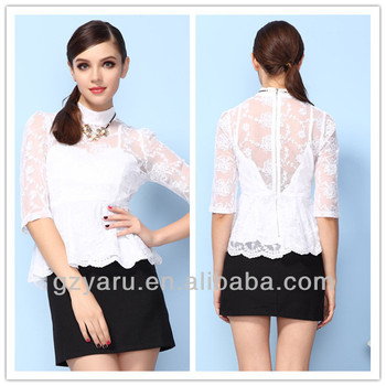 6a277f4c8355c2 Women Formal Office Wear Fashion 2014 Tops Woman - Buy Fashion ...