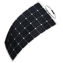 150w Mono sun power flexible solar panel for yacht boat RV boat pv module