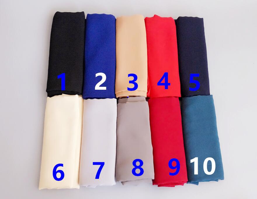 K78 180 85cm 10pcs 4 side gold pearl High quality bubble chiffon hijab  Shawl scarf scarves - us284 752285ee9e0b