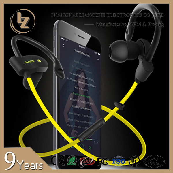 LZ-S4 Hot S4 sports bluetooth earphones,music smart headphones, stereo wireless waterproof headphones Amazon hotsale