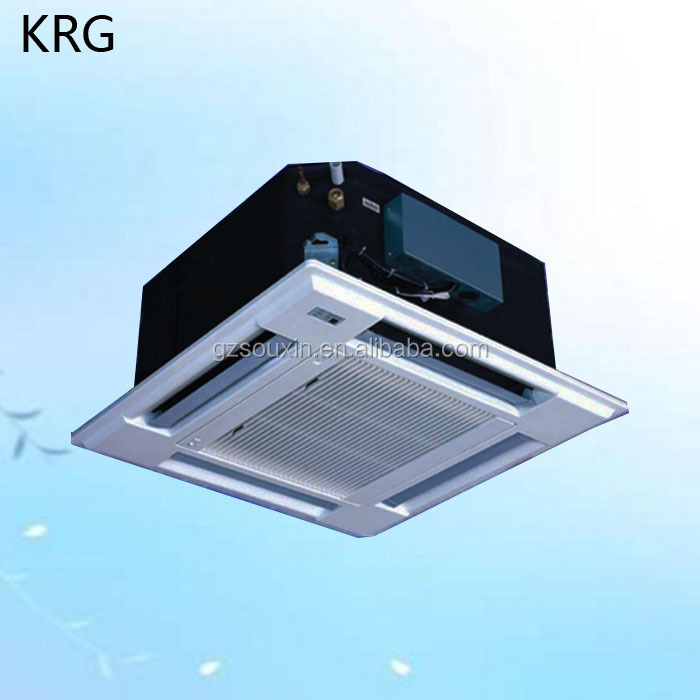 Ceiling Cassette Fan Coil Ceiling Mounted Split Ac Units With Vrv System Buy Ceiling Mounted Split Ac Units Air Conditioner Maintenance Drop Ceiling Air Conditioner Product On Alibaba Com