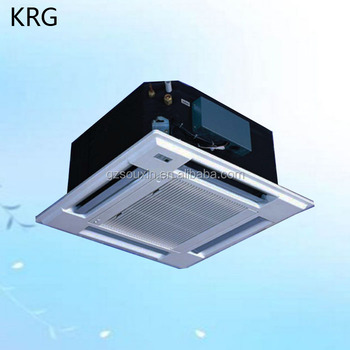 Ceiling Cassette Fan Coil Ceiling Mounted Split Ac Units With Vrv System -  Buy Ceiling Mounted Split Ac Units,Air Conditioner Maintenance,Drop Ceiling