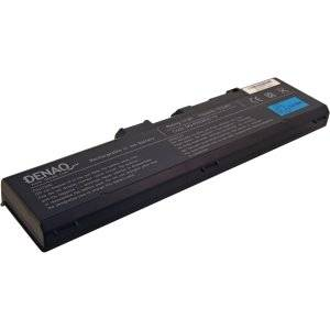DENAQ 12-Cell 7800mAh Li-Ion Laptop Battery for TOSHIBA Satellite A70, A75 and other - 7800 mAh - Lithium Ion (Li-Ion)-by DENAQ
