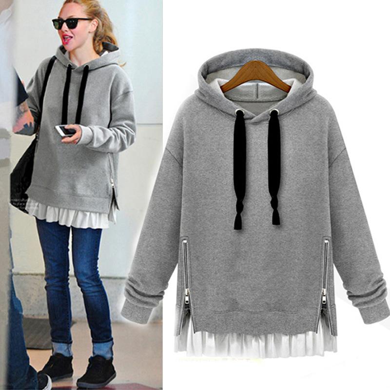 Winter warm high quality plain hoodies women for wholesale cheap bulk sweat  shirts f62b20f312
