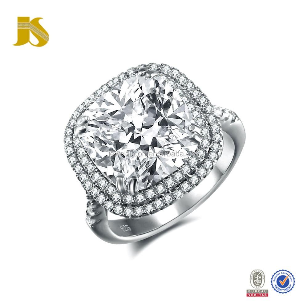 Diamond Engagement Rings e Big Stone Silver 925 Rings Buy