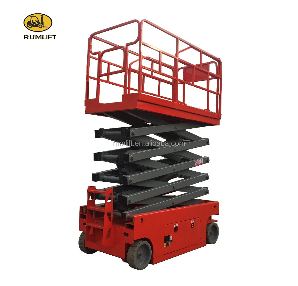high lift indoor scissor lift platform
