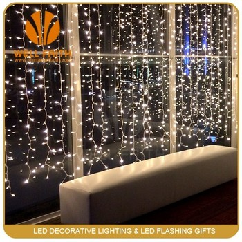 Wedding Lighting Decor Home Led Fairy Light Curtain