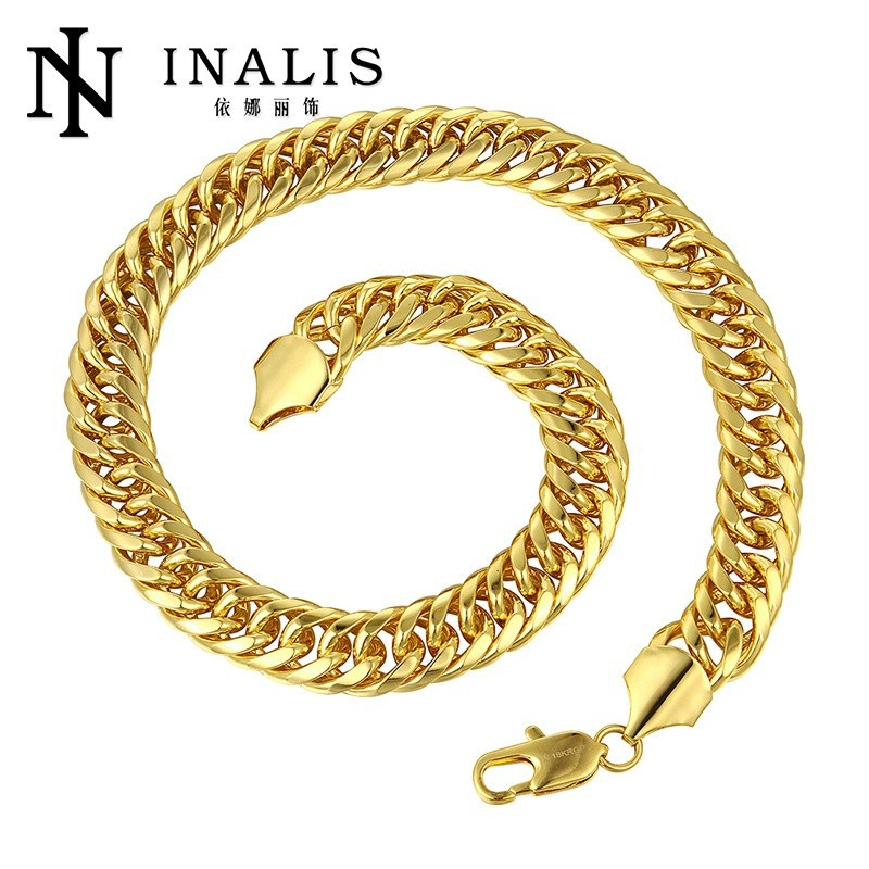 18KGRP Necklace Chain New Gold Chain Designs For Men