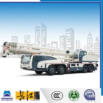 China Famous Truck Crane Manufature 70 Ton Mobile Crane Manual ...
