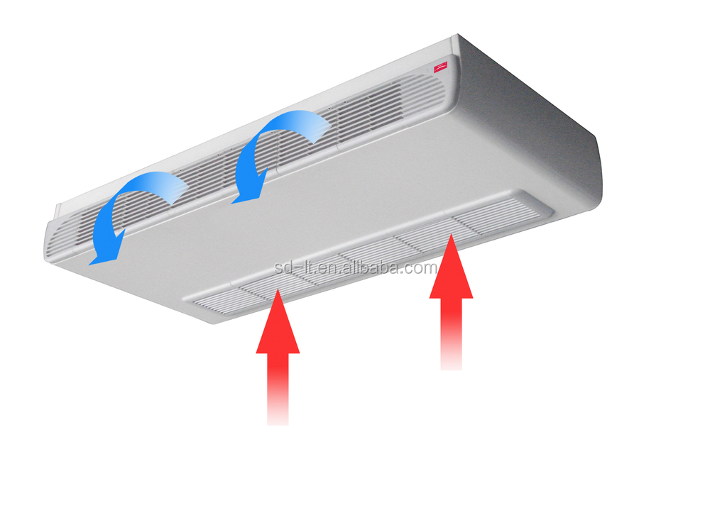 Horizontal air conditioner air conditioner guided for Indoor unit design