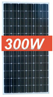 CE IEC AND TUV APPROVED 300W MONOCRYSTALLINE SOLAR PANEL