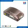 High quality VGA to AV Converter for PC to TV(VGA to RCA)