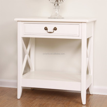 Beautiful home furniture bed side small table with drawers