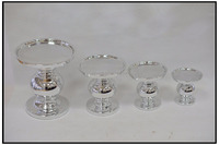 Restaurant table porcelain candle holder/ceramics candlestick for taper candles