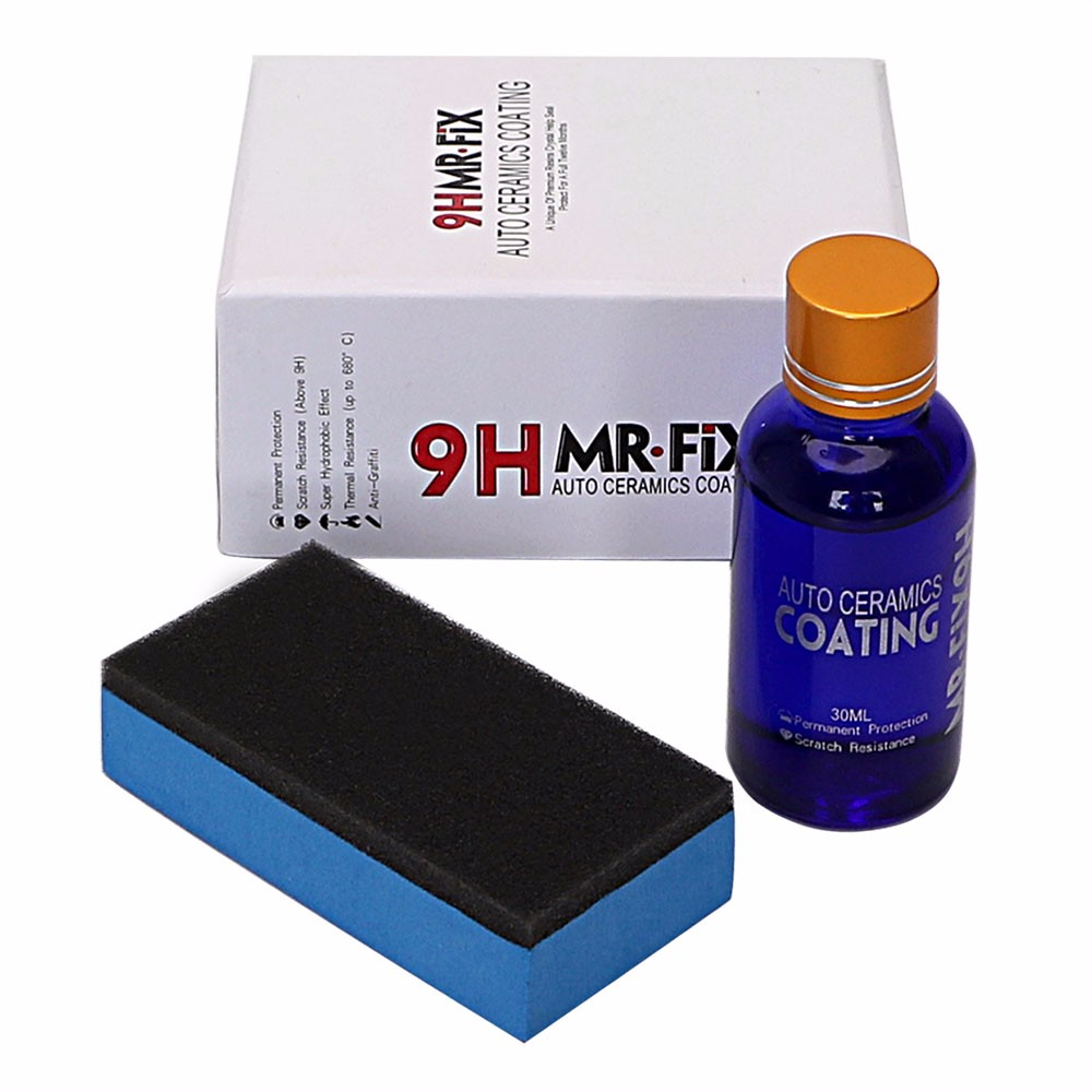9 H Auto Keramische Coating Hoogglans Keramische Voertuig Coating Anti-Kras Auto Polish Super Hydrofobe Glas Coating 30 ml