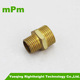 Mechanical parts brass fittings reducer coupling/male thread nipple connector /Pipe Fitting