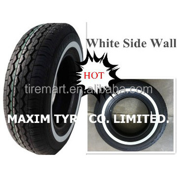 wsw car tyres 185r14c white wall tyre