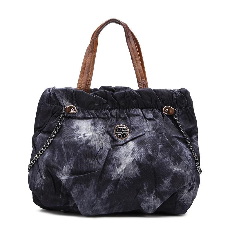 27dba2b2bfb Get Quotations · Women Handbag 2015 New Vintage Handbags High Quality Women  Bags Ladies Printing Fold Denim Bag Shoulder