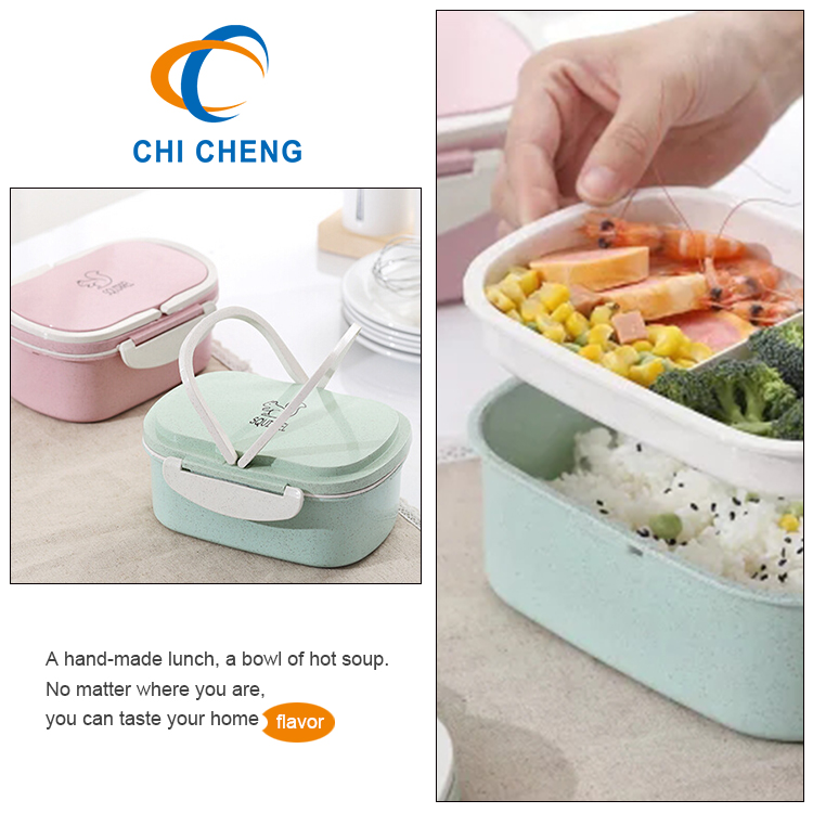 950ml Rectangle Hot Lunch Bento Box Lunch With Handle ...