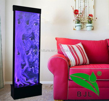 Led Room Divider Water Bubble Wall Panel With Logo Lighted Acrylic