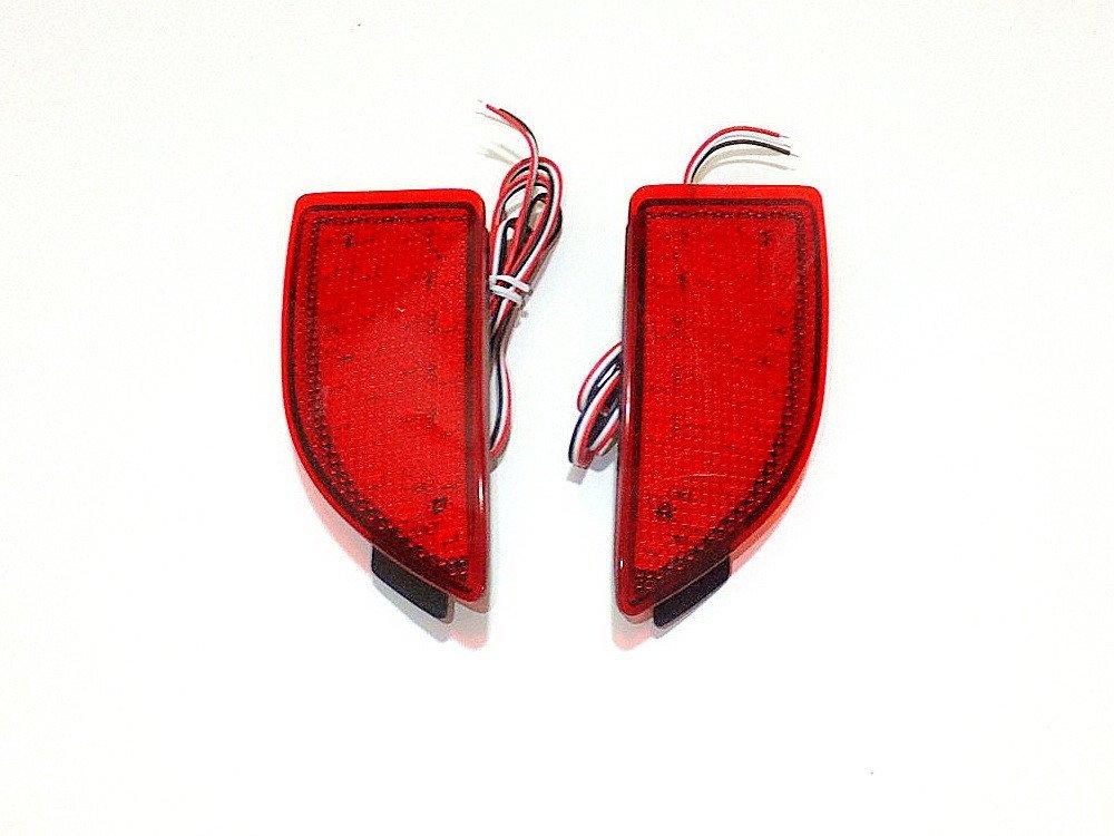 July King Car LED Brake Lights Night Running Lights for Mazda 3 Axela Hatchback 2013~ON, LED Rear Bumper Warning Fog Lamp, 1 sets/lot