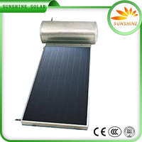 Home Solar Systems Low Pressure Domestic Solar Water Heater 200 Liter