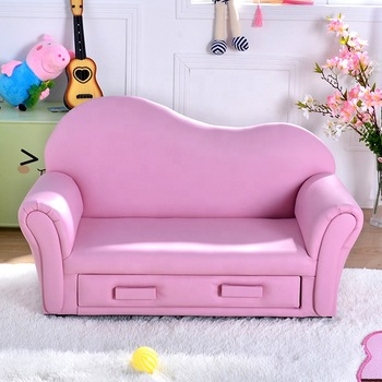 China Factory Leather Sofa Kids