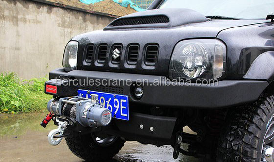 Hydraulic Capstan Winch Cable Warn Winch 13500lbs For Car