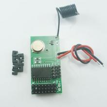 DC 5V 12V 4 CH 433Mhz ASK OOK PT2262 SC2262 Encoded Transmitter Module for GSM SMS Home Burglar Security Alarm System