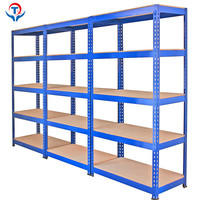 Stainless Steel Combined Shelving Unit Industrial Storage Rack