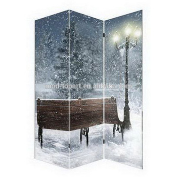 Digital Print Polyester Cheap Indoor Privacy Screen Room Divider ...