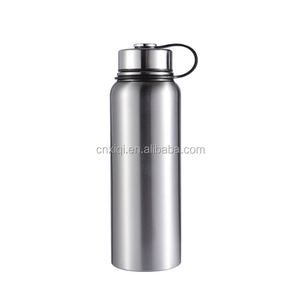 Bpa Free Stainless Steel Reflect Water Bottle with Bamboo Cap