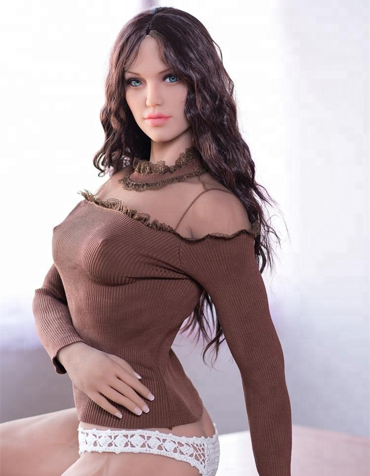 Naked girls sex 163cm full muscle silicone latest real sex doll fitness vigorous and graceful full silicone sex doll