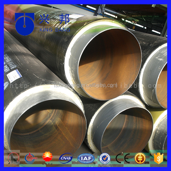 Pre Fabricated Direct Buried Chilled Water Insulated Steel Pipe