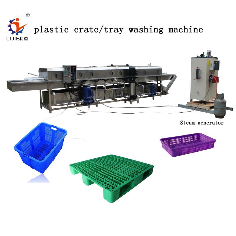 रीसाइक्लिंग टोकरा वॉशिंग मशीन/अंगूर बॉक्स वॉशिंग मशीन/नाशपाती ट्रे वॉशिंग मशीन