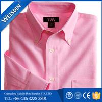 business shirts Guangzhou plus size shirt for men wrinkle free